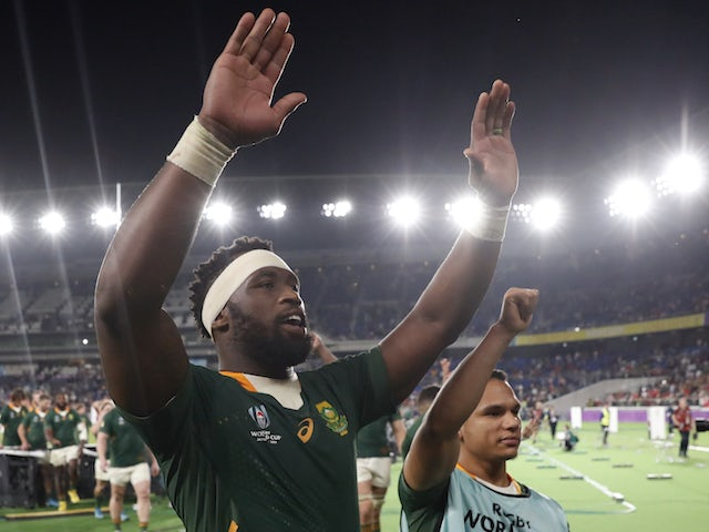 South Africa players dominate shortlist for Rugby Union Writers' Club personality