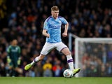 Manchester City midfielder Tommy Doyle pictured on his debut on October 29, 2019