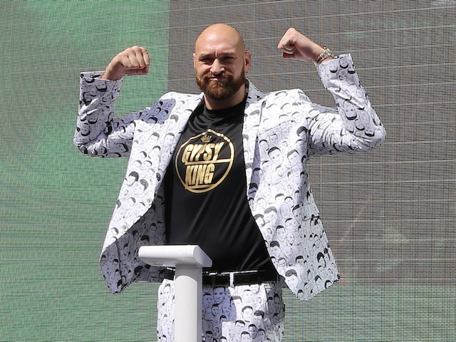 Result: Tyson Fury wins by count-out on WWE debut in Saudi Arabia