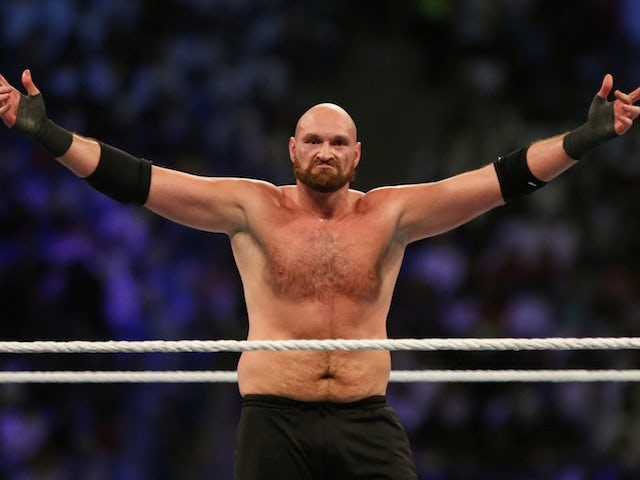 Tyson Fury weighs in a stone heavier for fight with Deontay Wilder