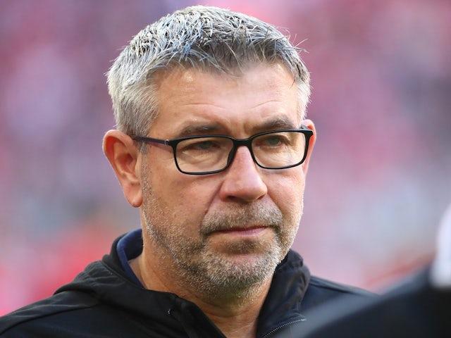 Union Berlin boss Urs Fischer pictured in October 2019