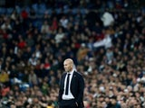 Real Madrid coach Zinedine Zidane pictured on November 2, 2019
