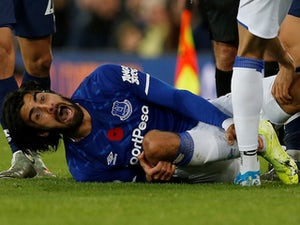 Andre Gomes returns to action for Everton after horror ankle injury