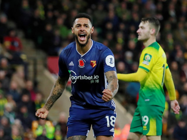 Watford striker Andre Gray apologises for breaking lockdown rules