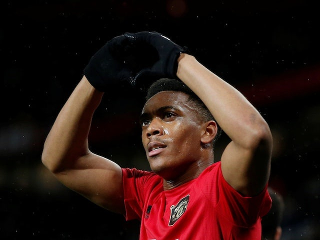 Solskjaer hoping to have Martial available for Manchester derby
