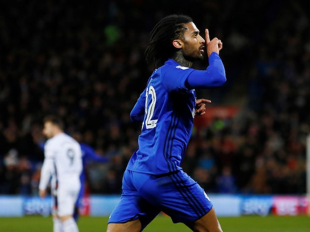 Armand Traore pictured for Cardiff in February 2018