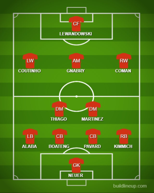 POSSIBLE BAY XI v OLY