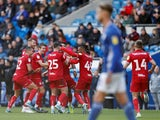 Bristol City's Josh Brownhill celebrates after scoring their first goal with team mates on November 10, 2019