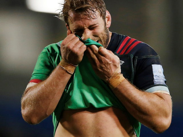 Chris Robshaw hits out at Saracens for