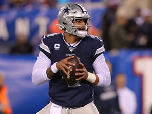 New York Giants suffer fifth straight defeat as Dallas Cowboys storm back