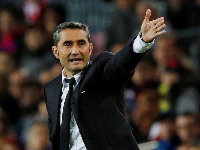Ernesto Valverde challenges Barcelona to make winning end to year