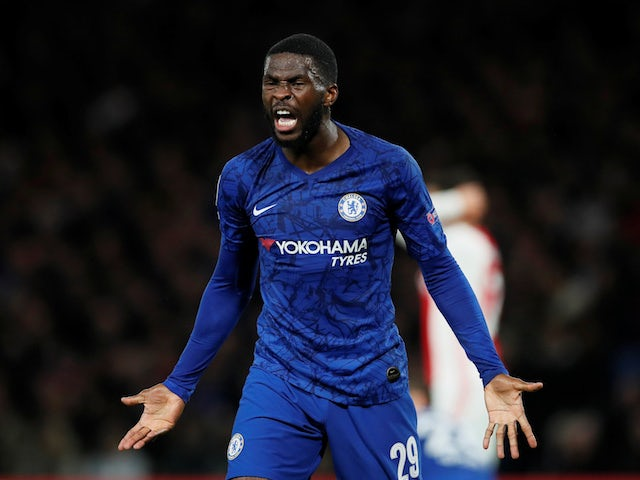 Chelsea's Fikayo Tomori pictured on November 5, 2019