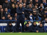 Chelsea manager Frank Lampard on November 9, 2019