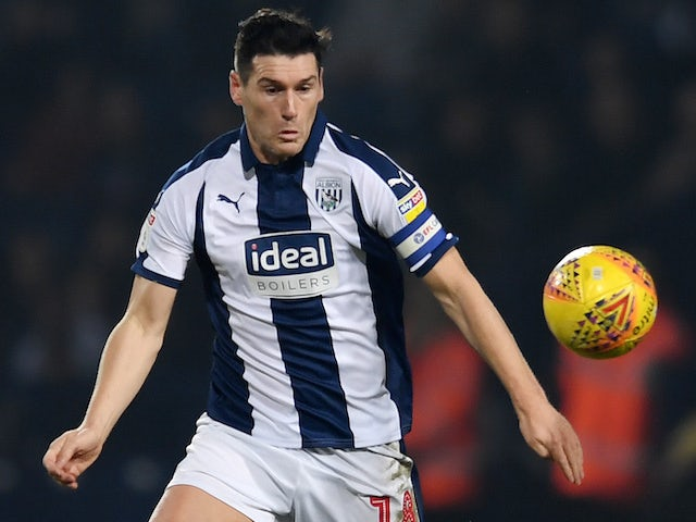 Gareth Barry in action for West Brom on February 23, 2019