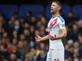 Gary Cahill in action for Crystal Palace against former side Chelsea on November 9, 2019