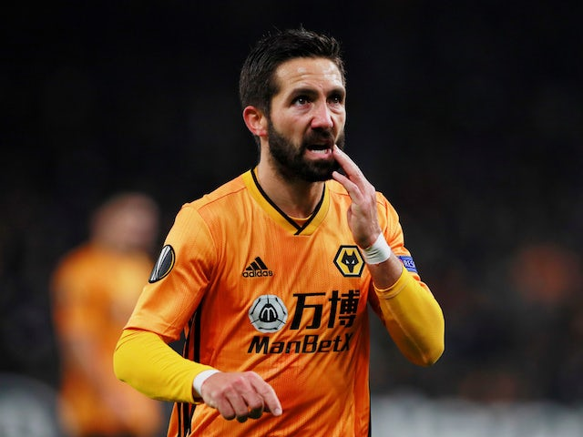 Wolverhampton Wanderers' Joao Moutinho during the match on November 7, 2019