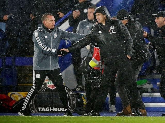 In focus: Brendan Rodgers vs. Unai Emery as Leicester beat Arsenal