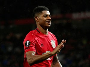 Marcus Rashford insists he does not feel pressure at Manchester United