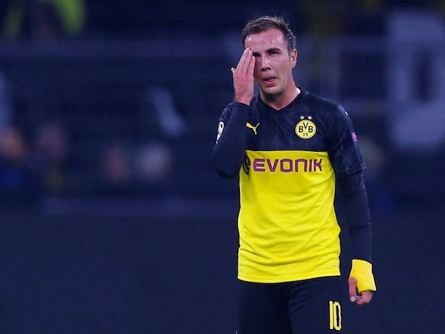 Roma To Rival Everton West Ham United For Borussia Dortmund S Mario Gotze Football Addict