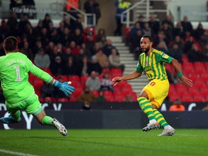 West Brom back on top of Championship after win at Stoke City