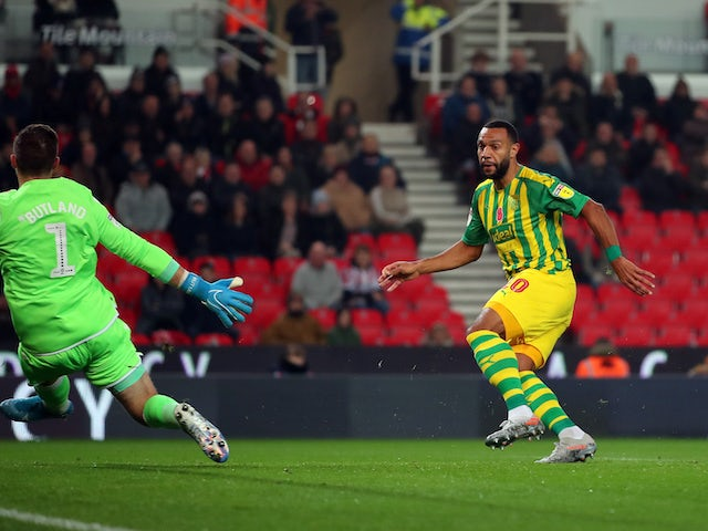 Result: West Brom back on top of Championship after win at Stoke City