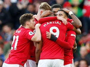 Manchester United cruise past Brighton to move up to seventh