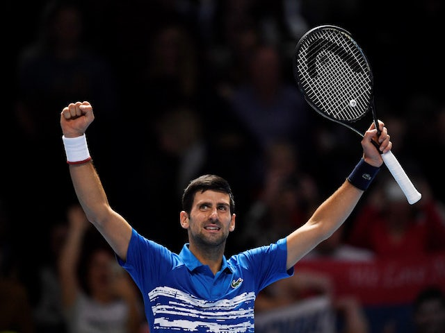 Result: Djokovic brushes aside Berrettini as ATP Finals begin