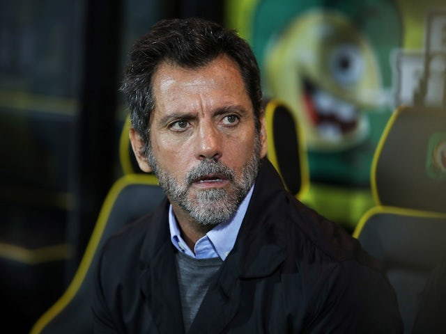 Watford manager Quique Sanchez Flores before the match on November 8, 2019