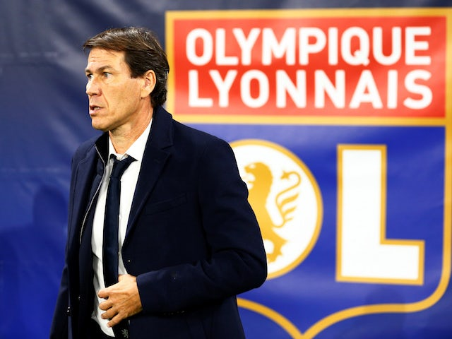 Lyon manager Rudi Garcia pictured on November 5, 2019