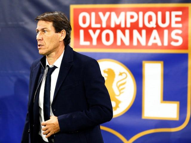 Lyon manager Rudi Garcia pictured on November 5, 2019