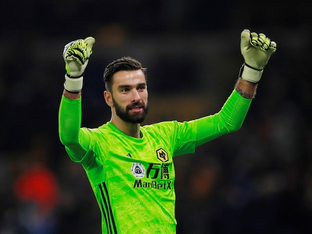Wolves boss Nuno Espirito Santo insists Rui Patricio can still improve