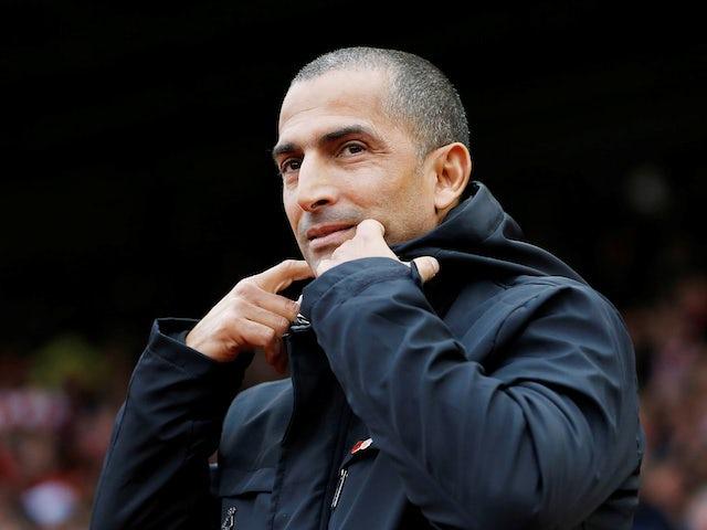 Nottingham Forest boss Sabri Lamouchi on November 9, 2019