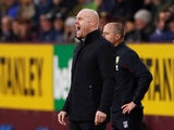 Burnley manager Sean Dyche on November 9, 2019