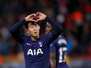 Son Heung-min scores twice as Spurs thrash Red Star Belgrade
