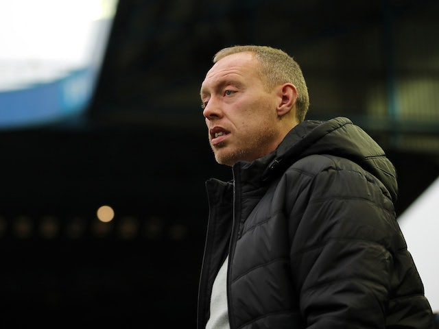 Swansea boss Steve Cooper regards the action on November 9, 2019