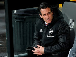 Arsenal manager Unai Emery pictured on November 6, 2019