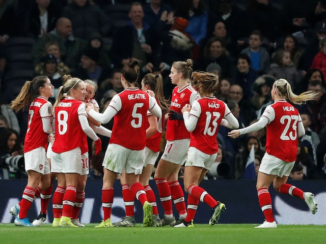 Result Arsenal Beat Tottenham In Front Of Record Wsl Crowd