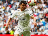 Brahim Diaz in action for Real Madrid on May 19, 2019
