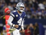 Dak Prescott in action for the Cowboys on November 10, 2019