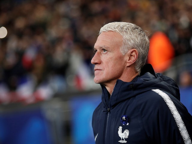 France boss Didier Deschamps on November 14, 2019