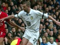 Dominic Matteo in action for Leeds United in February 2004