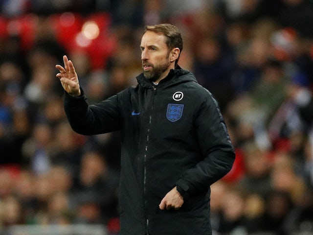England manager Gareth Southgate on November 14, 2019