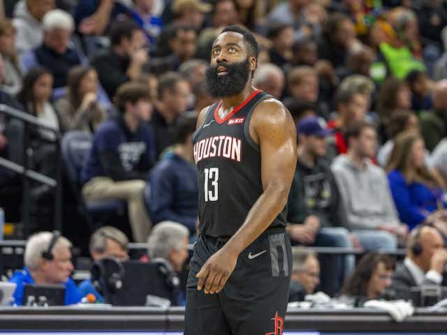 NBA roundup: James Harden inspires Houston Rockets to seventh straight win