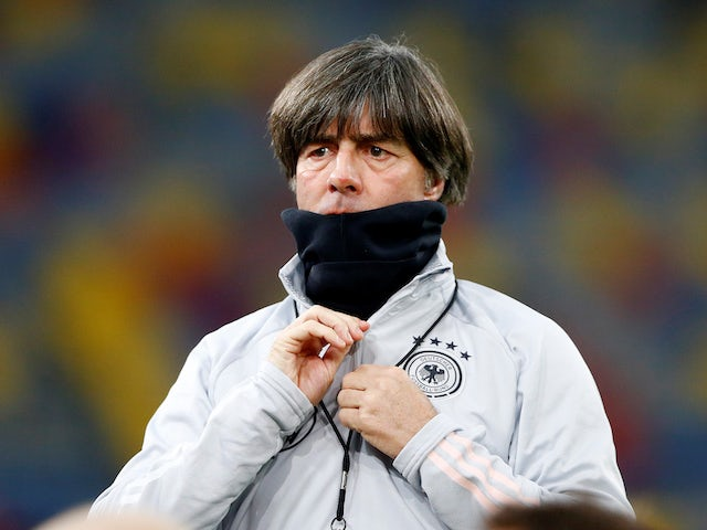 Germany boss Joachim Low pictured on November 15, 2019