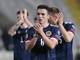 John McGinn in action for Scotland on November 16, 2019