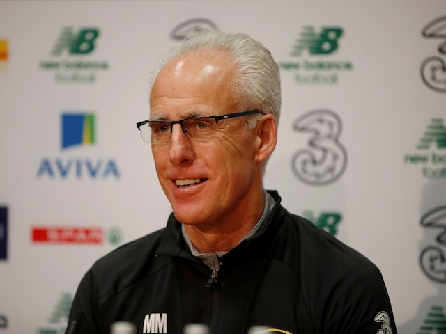 Mick McCarthy insists Ireland can end winless run against Denmark
