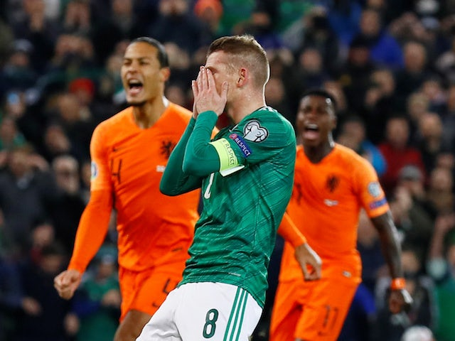 Result: Netherlands book Euro 2020 spot at Northern Ireland's expense