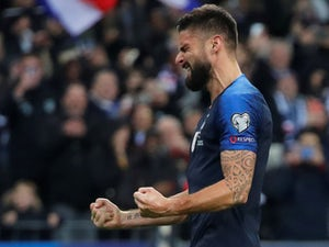 Late Olivier Giroud penalty rescues France in Paris