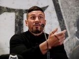 Sonny Bill Williams at a Toronto Wolfpack press conference on November 14, 2019