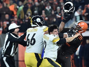 Cleveland Browns beat Pittsburgh Steelers in ill-tempered affair